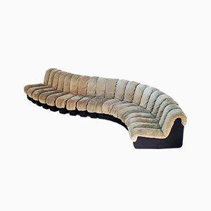 Vintage Snake / DS600 Sofa von De Sede