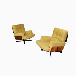 Vintage 401 Armchairs by Menilio Taro for Cinova, Set of 2