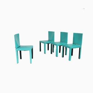 Vintage Arcadia Stühle von Paolo Piva für B & B Italia / C & B Italia, 4er Set
