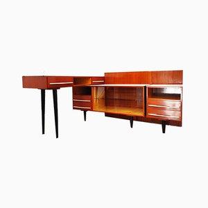 Set di mobili modulari di M. Pozar per UP Závody, anni '60, set di 3