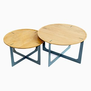 Ta-So Coffee Tables by La-Ma-Dé, 2017, Set of 2