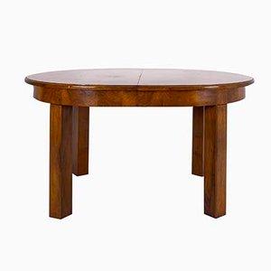 Model 569 Dining Table by Hans Hartl for Deutsche Werkstätten Hellerau, Deutschland, 1940s