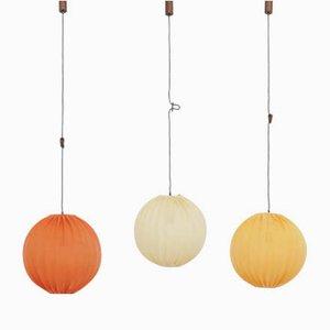 Lampes Ballon par Hans-Agne Jakobsson, Suède, 1960s, Set de 3