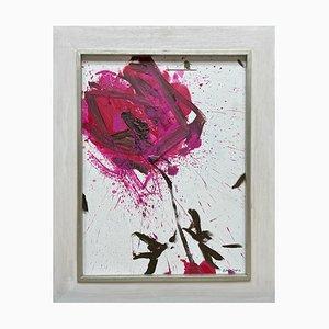 Oskar Koller, Gemälde, Große Rosenblüte