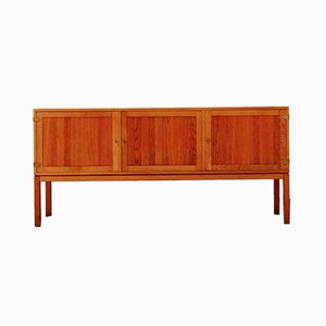 Solid Teak Sideboard by Kurt Ostervig for Vamo Sonderborg, 1960s