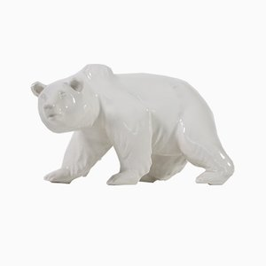 Porcelain Polar Bear from KPM Berlin
