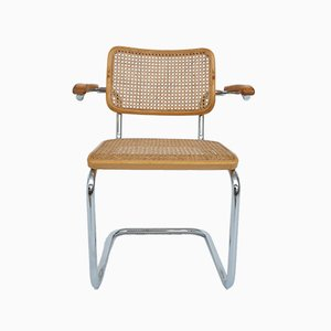 German S64 Cesca Armchair by Marcel Breuer for Thonet, 1928 / 1984