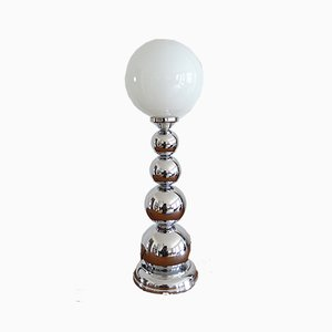 Chrome Bubble Table Lamp, 1970s