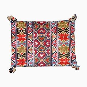 Swedish Hand-Woven Röllakan Akdyna Pillow, 19th Century
