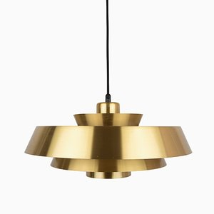 Danish Nova Pendant Lamp by Johannes Hammerborg for Fog & Morup, 1960s