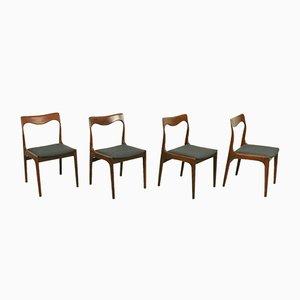 Esszimmerstühle von AWA für AWA Meubelfabriek, 1960er, 4er Set