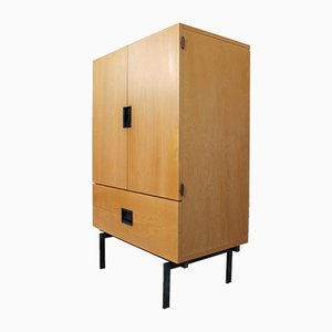 Birch Japanese Series Cu03 Cabinet by Cees Braakman for Pastoe, 1950s