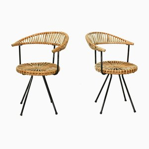 Esszimmerstühle von Rohé Noordwolde, 1960er, 2er Set