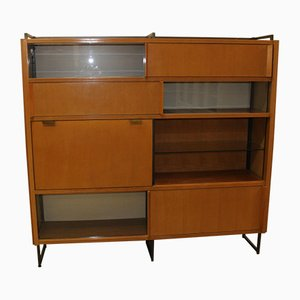 Bookcase with Secretaire by Georges Frydman for EFA, Circa 1960