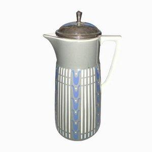 Vintage Kakaotopf mit Deckel von Villeroy and Boch