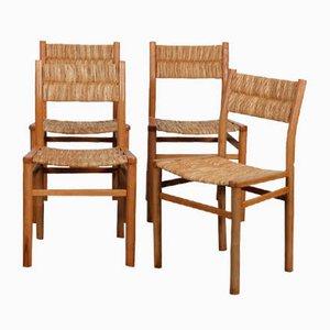 Modell Week-End Stühle von Pierre Gautier-Delaye, 1950er, 4er Set