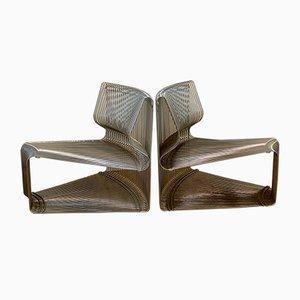 Pantanova Lounge Chairs by Verner Panton for Fritz Hansen, 1970s, Set of 2