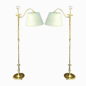 Vintage Floor Lamps, Set of 2