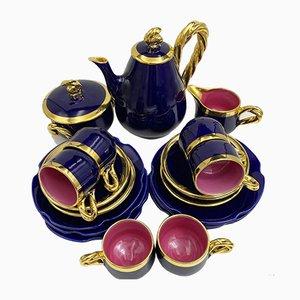 Tea Set from Vallauris, Set of 21