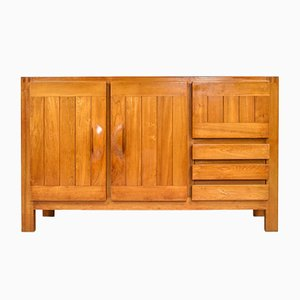 Solid Elm Sideboard by Maison Regain