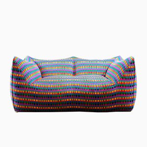 Le Bambole Sofa with Missoni Fabric by Mario Bellini for B&B Italia, 1970s