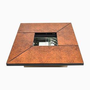 Burl Bar Coffee Table by Paul Michel