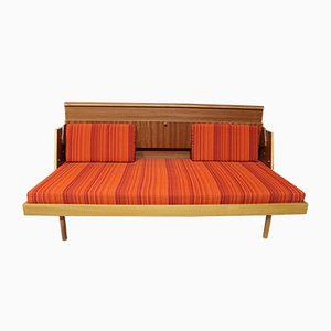 Sofá cama alemán, años 60