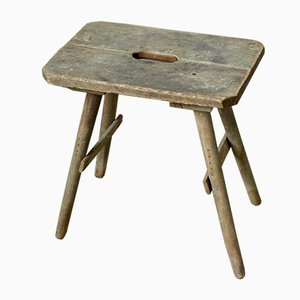 Antique Tripod Farm Stool
