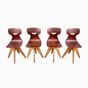 Smile Chairs by Adam Stegner for Pagholz Flöttoto, Set of 4