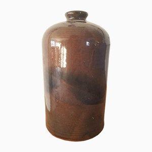 Jarrón Soliflore vintage de cerámica