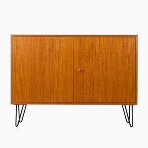 Vintage Teak Sideboard / Dresser on Pin Legs, 1960s