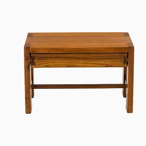 Vintage Bedside Table by Pierre Chapo