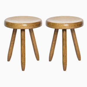 Stools by Charlotte Perriand for Steph Simon, Set of 2