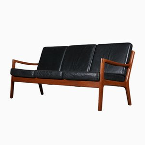 Senator Model 116 3-Seater Sofa by Ole Wanscher for France & Søn, 1950s