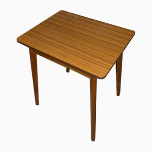 Small Imitation Wood Formica Kitchen Table, 1960s