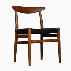 Sedia W2 di Hans J. Wegner per Madsen, Danimarca, anni '50