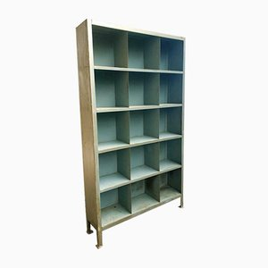Industrial Compartment Cabinet Steel Bookcase