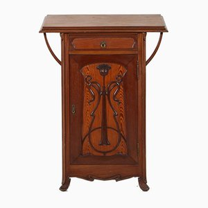 Small Art Nouveau Cabinet with Writing Surface, 1900s