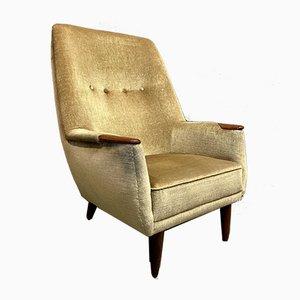 Large Scandinavian Armchair, 1950s