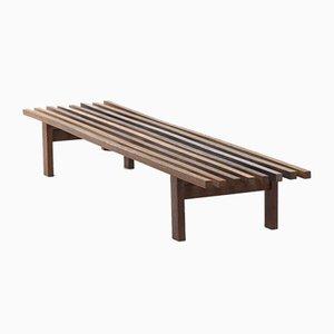 Wenge Slat Bench by Martin Visser for T Spectrum, 1960s