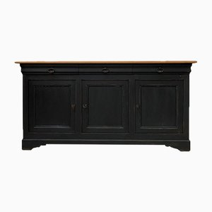 Patinated Buffet with 3 Doors, 1960s