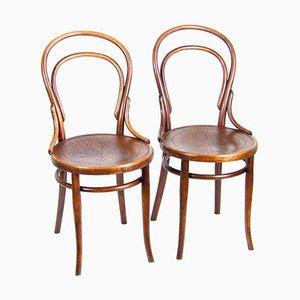 Thonet Nr. 14 Stühle, 1880er, 2er Set