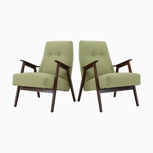 Armchairs ,Czechoslovakia, 1960s, Set of 2