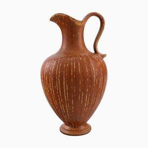 Große Vase mit Griff aus glasiertem Steingut von Gunnar Nylund für Rörstrand