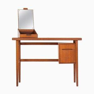 Table de Bureau ou Bureau en Teck par Kurt Østervig, Danemark