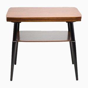 Table Basse avec Étagère et Plateau Tournant