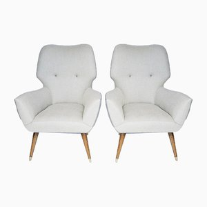 Lounge Chairs, Set of 2
