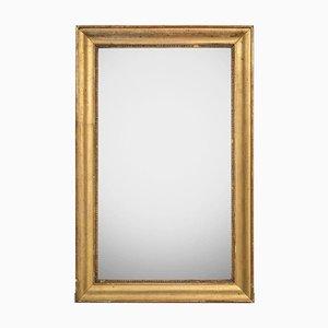 Antiker Kleiner Rechteckiger Spiegel