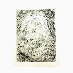 Salvador Dali - Marguerite - Original Etching - 1969