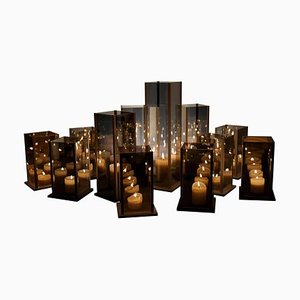 Kaleido Candleholders by Arturo Erbsman, Set of 12